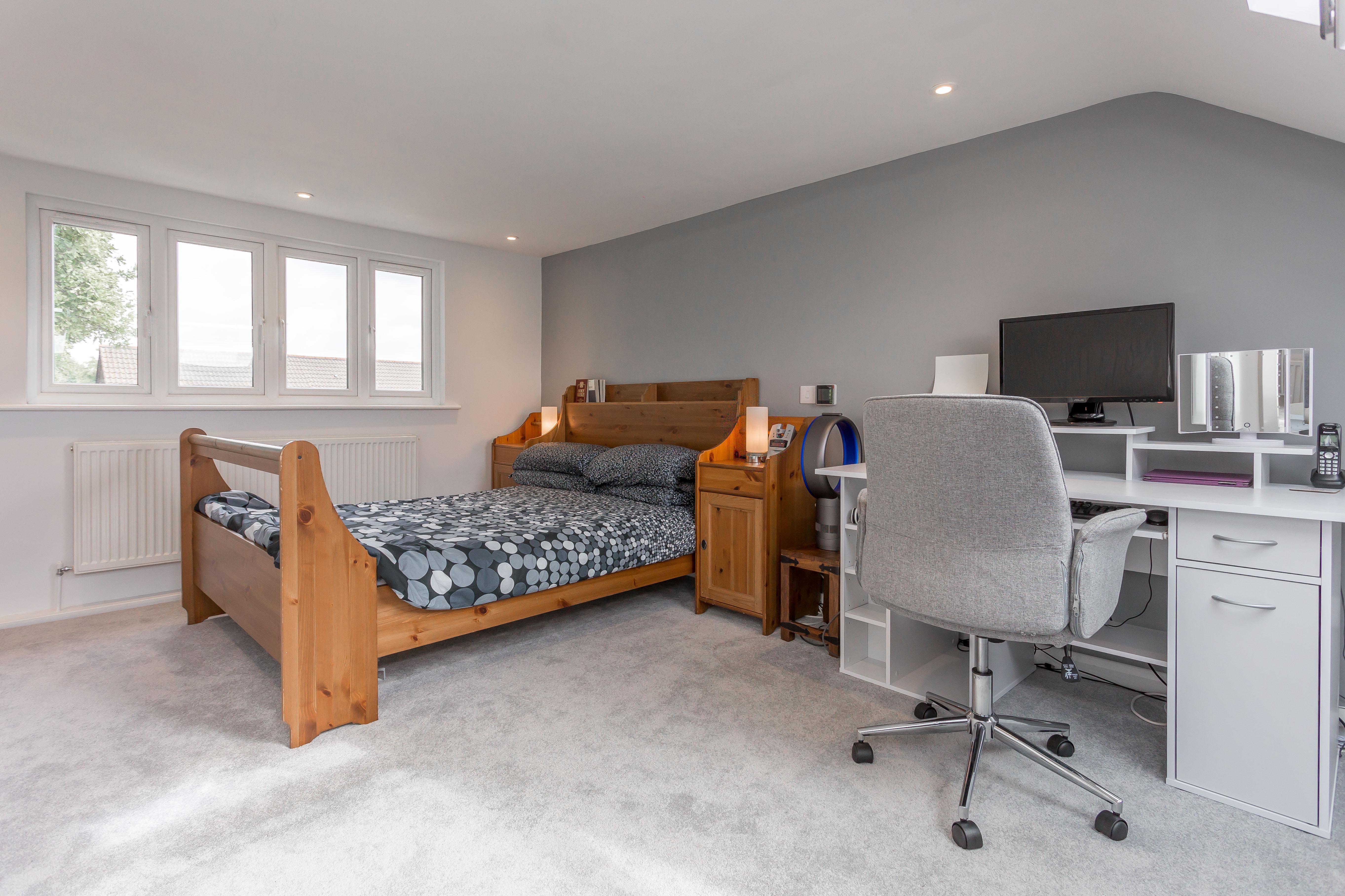 Loft conversion Cheshunt Bedroom