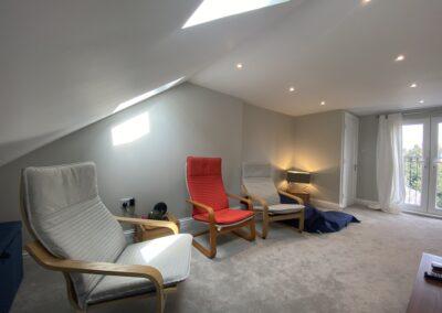 Loft Conversion in Acton London- interior design