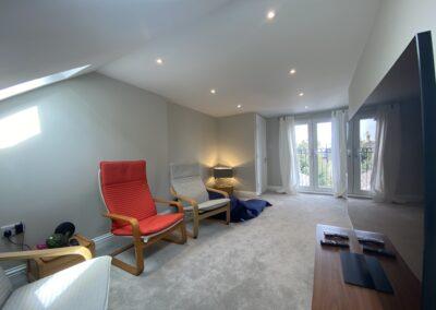 Loft Conversion in Acton London- bedroom
