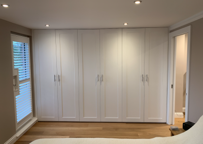 Loft Conversio in Worcester Park, fitted wardrobe