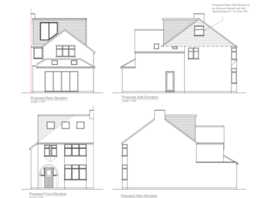 Loft Conversion St Albans drawings
