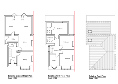 Loft Conversion St Albans in London plans