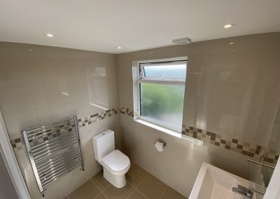 Loft Conversion completed in Neasden- bathroom