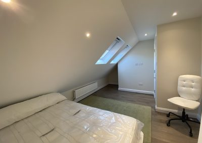 Loft Conversion completed in Neasden- bedroom photo1