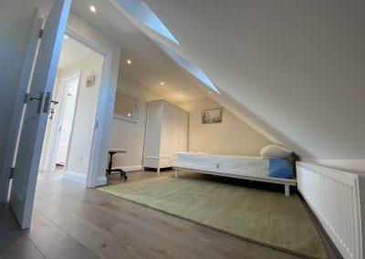 Loft Conversion completed in Neasden- bedroom1