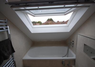 Loft Conversion in Eastcote, London- Bathroom
