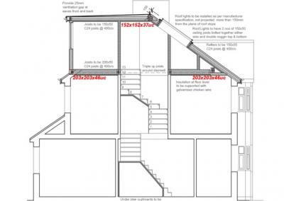 Loft Conversion in Hanworth section BB