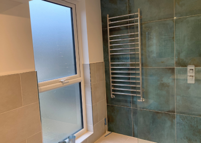 Loft Conversion in Harlesden Shower room