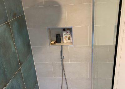 Loft Conversion in Harlesden shower room