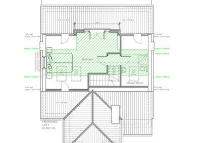 Loft Conversion in St. Margaret- Plan3