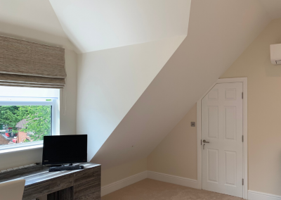 Loft Conversion in Stanmore studio with window