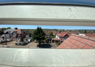 Loft Conversion in Wembley Park, view from window