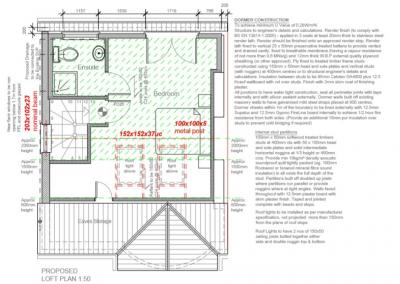 Proposed loft plan 1 Hanworth