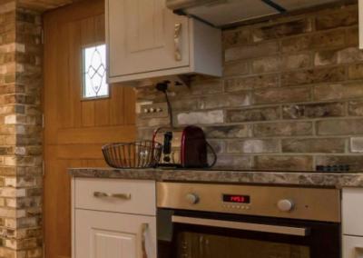 Loft conversion kitchen in Staines
