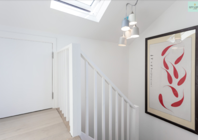 loft conversion highgate stairs design