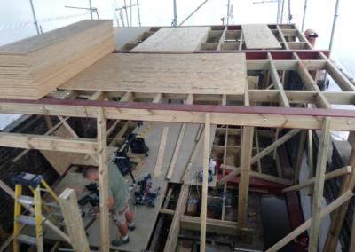 Islington loft conversion before