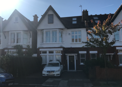Loft conversion in West Ealing