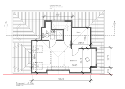 Loft Conversion in Hanger Lane Plan