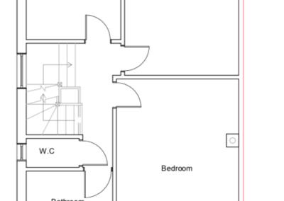 Loft Conversion in Eastcote Plan