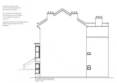 Stoke Newington Loft Conversion Plan 1
