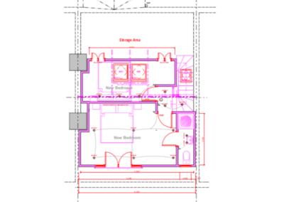 Loft Conversion Woodside Park (Plan)