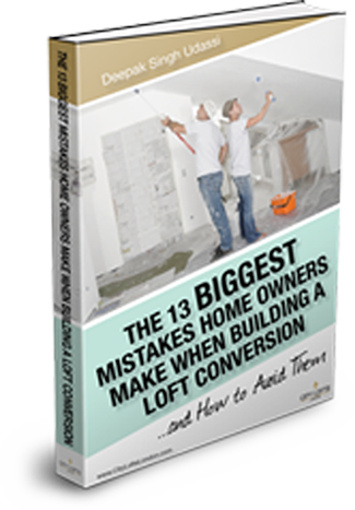 Download our free ebook and understand the top 13 mistakes homeowners make when completing a loft conversion