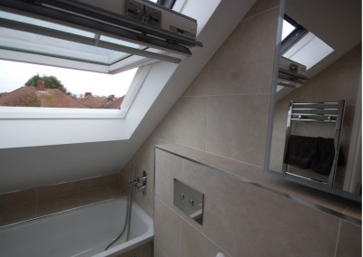 loft Conversion in eastcote- Bathroom