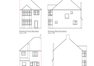 loft conversion in Edgware, plans