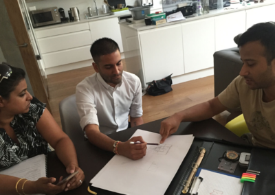 loft conversion in Watford talk with the architect